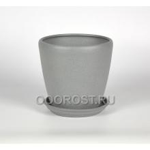 Горшок Грация №1 (крошка металлик) 10л, d26см, h26см