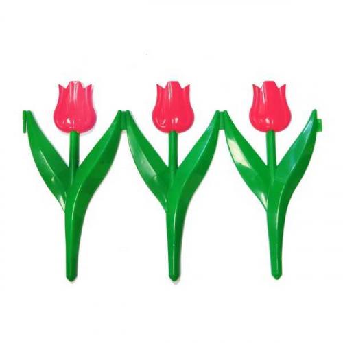 Заборчик Тюльпан красный (дл 2,25м, выс 30см, 5секций)