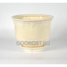 Горшок Лилия №1 (белый) 9,2л, D32см, H23см