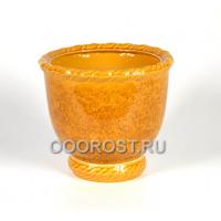 Горшок Медея №1 (горчичный) 9л, d30см, h22см