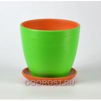 ФЛЕР зеленый крокус №4  d22см, 4,2л