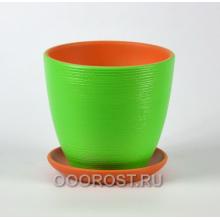 ФЛЕР зеленый крокус №2  d15см, 1,4л