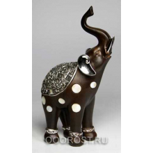Слон 84-939-M4,  L 14 см, H 24 см