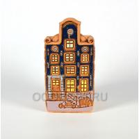 Кашпо Нидерланды дом №11 h26см, диаметр 13*13см, 2.2л