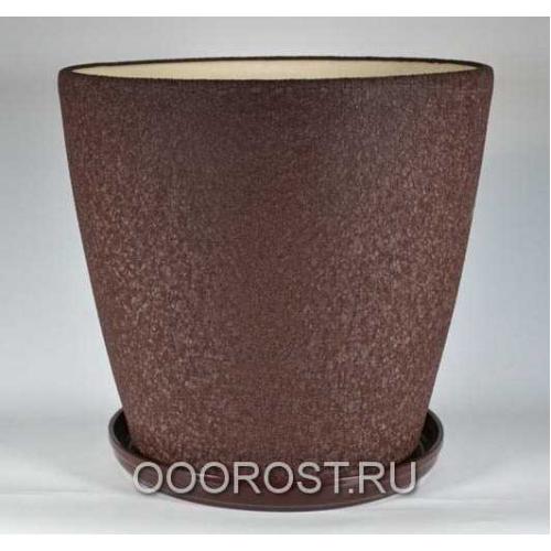 Горшок Грация №0 (шелк шоколад) 30 л