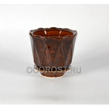 Горшок Берта №3 коричневый 1,8л, d18см, h14см