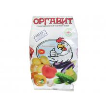 Удобрение органическое Оргавит куриный 2кг