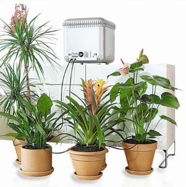 Капиллярный полив растений